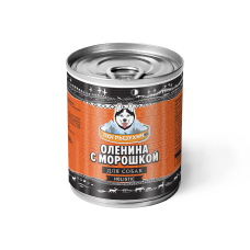 Оленина с морошкой (338 гр.) Влажный корм.